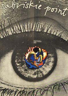 Hungarian film posters - Zabriskie Point