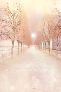 paris dream romantic art peach