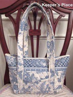 Vera Bradley BLUE TOILE Paddy Shoulder Bag  #VeraBradley #ShoulderBag