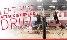 Cover your hitter drill Volleyball Workouts, Volleyball Quotes, Volleyball Gifts, Coaching Volleyball, Girls Softball, Volleyball Players, Girls Basketball, Basketball Cheers, Basketball Court