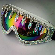Burner Glam Goggles Ski Fashion Costume Festival by ATuTuForYouTu