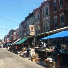 9th St Italian Market in South Philadelphia