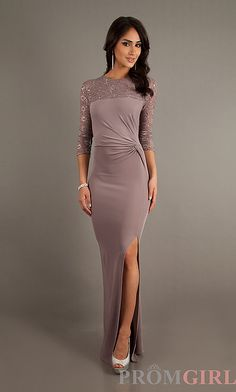 Long Modest Formal Dress