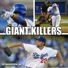 Dodgers sweep Giants! June 26, 2013