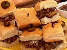 Spicy Jalapeno Sliders (1) From: Food Network (2) Webpage has a convenient Pin It Button