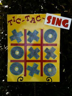 "Tic Tac Toe Game OR Hugs and Kisses Game for Valentines Day.  For Valentine's Day pick songs with the word love in it or about love and ask questions about the song after they sing it to get a ""hug"" or a ""kiss"""