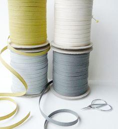 Eco Friendly - Italian cotton ribbon https://www.etsy.com/shop/CraftyWoolFelt?section_id=11990477