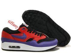 finest selection 595b5 7415b Mens Nike Air Max 1 Dark Shadow Varsity Purple Shoes Cheap Nike Air Max,  Nike