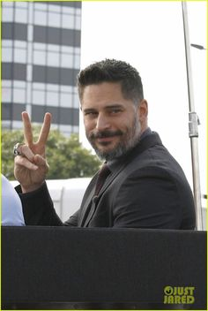 Sofia Vergara Says Joe Manganiello's New Movie 'Magic Mike XXL' Will Make Ladies 'Go Wild': Photo Joe Manganiello suits up sharp for an interview with Extra on Friday afternoon (June in Los Angeles. Joe Manganiello Magic Mike, True Blood Werewolf, Pure Romance Consultant, Sofia Vergara, Going Crazy, Perfect Man, Top Ten, New Movies, Gorgeous Men