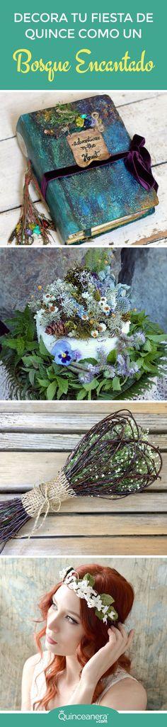 ¡Para la celebración de unos Quince sacados como de un cuento de hadas, necesitarás estas encantadoras decoraciones! - See more at: http://www.quinceanera.com/es/decoracion/decora-fiesta-quince-bosque-encantado/#sthash.h2a7nKN5.dpuf