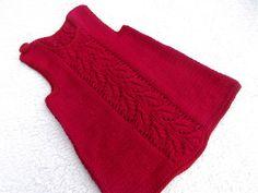 Red Dress. by tlcrochetknitting on Etsy, $25.00
