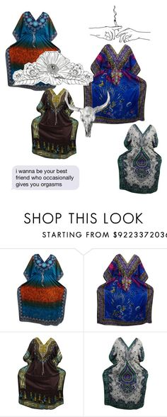"""FASHION KAFTANS"" by lavanyas-trendzs ❤ liked on Polyvore"