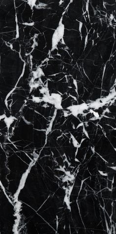 "4"" x 8"" Marble Field Tile in Black"