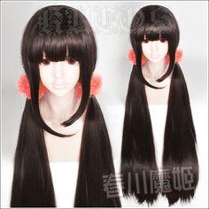 "Danganronpa V3: Killing Harmony Harukawa Maki 100cm/40"" Long Cosplay Hair Wig  | eBay"