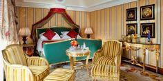 Lujosas habitaciones, Suite presidencial del hotel Principe Di Davol en Milán