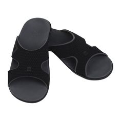 023035484540a  NewProduct  Spenco Totral Support Kholo WIDE Sandals for Men - Black  Supportive Sandals