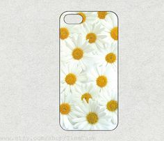 White chrysanthemum for iphone 4s case iPhone 5c by TimeCase, $0.20