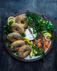 Bagel and Lox Platter