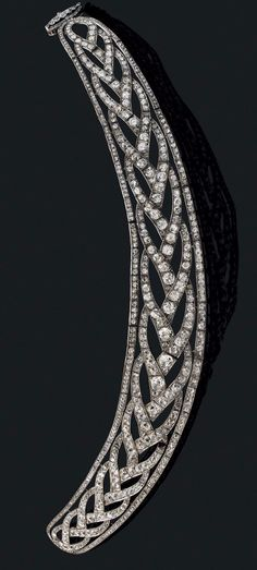 Diamond collier, end of 19th century-early 20th century