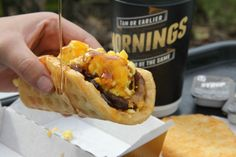 Would you try a waffle taco (a warm waffle wrapped around a sausage patty or bacon, with scrambled eggs and cheese, and served with a side of syrup) from Taco Bell's upcoming breakfast menu? http://whateverblog.dallasnews.com/2014/02/taco-bell-will-start-serving-breakfast-in-march-including-a-waffle-taco.html/
