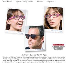 www.ajmorganeyewear.com - US - Stylish Reading Glasses