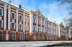 St.Petersburg State University (Twelve Colleges Building) in St Petersburg, Russia