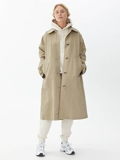 What's The deal with 'Old Money Style'? - DisneyRollerGirl Hooded Parka, Belted Coat, Silhouette, Tomboy Fashion, Casual Looks, Mantel, Raincoat, Women Wear, My Style