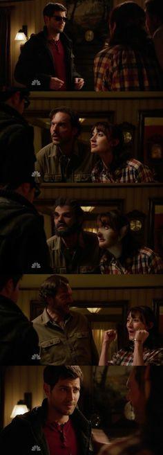 #Grimm   #S03E17   Synchronicity   NBC.  Future so bright he's gotta wear shades.....