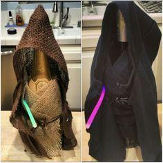 Obi Wine Kenobi and Darth Vino