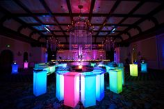 Uplit Neon Bar    www.seaisland.com #seaisland #events #decor