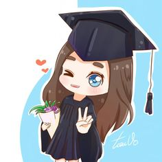 Graduation Cartoon, Graduation Drawing, Nursing Graduation Pictures, College Graduation Photos, Graduation Picture Poses, Graduation Scrapbook, Cute Wallpaper Backgrounds, Wallpaper Iphone Cute, Cute Wallpapers