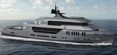After presenting the new Palladium superyacht concept to the public, Rossinavi has now unveiled the explorer style yacht Poseidon from the pen of desig… Super Yachts, Explorer Yacht, Monaco Yacht Show, Marine Engineering, Yacht Boat, Yacht Club, Private Yacht, Cool Boats, Luxe Life