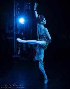 "<<Natalia Osipova as Aegina in ""Spartacus"", Bavarian State Ballet, Munich # Photo © Carlos Quezada>>"