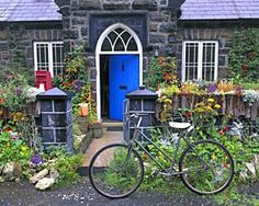 Traditional Irish Cottage | ... blog covers all forms of adored decor such as Irish lead crystal