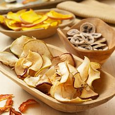 Homemade Dried Fruit:    Use these tips and dried fruit recipes to learn how to dry fruit. It's easy as 1-2-3!