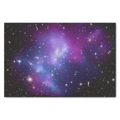 "Purple Galaxy Cluster 10"" X 15"" Tissue Paper"
