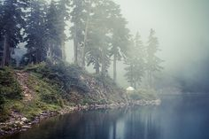Lake Melakwa is a lake in King County, Washington photo by photosbysomeguy, via Flickr
