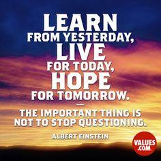 Never lose hope #hope #progress #passiton www.values.com