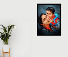 Gift your loved ones a Painting Portrait Done by our professional Artists👆 Photo to art Starting at just 450/- For orders visit www.doozypics.com For Quicker response reach us @ whats app: 7799779935 Photo To Art, Photo Restoration, Photo Retouching, Online Gifts, Caricature, Online Art, First Love, Pop Art, Photo Gifts