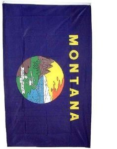 Montana State Flag, would love to bring this around the world with me :)