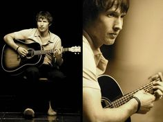 Photo shoot: James Blunt's re-release of the single 'High' (2005)   Credit: Luis R. Vidal