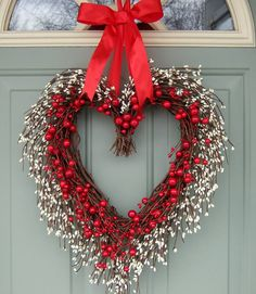 Valentine Wreath - Valentine Door Wreath - Wreath for Valentines Day on Etsy, $64.00