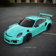 The Porsche 911 GT3 RS is the kind of car that would look appealing in any kind of color, but when the track-savvy Neunelfer puts on a Mint Green coat, the cool factor climbs sky-high.