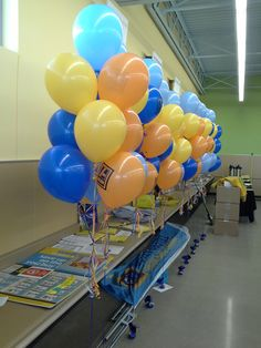 Aldi Foods was at it again today with another store opening and Life O' The Party was there.       #balloons, #balloondecorating, #lotparty.com, #Aldi, #Aldifoods #grandopening #Bourbonnais