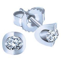 Ben Moss Jewellers 0 08 Carat Tw Canadian Ice Diamonds Sterling Silver Earrings