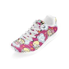 """Sneakers """"Little Angels """" Legging, High Tops, High Top Sneakers, Angels, Creations, Sweatshirt, Collection, Shoes, Fashion"""