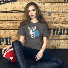 Donkey, Cool Funny Quotes Gift / Short-Sleeve Unisex T-Shirt 98W - Asphalt / L