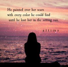 'Setting Sun' #atticuspoetry #atticus #poetry #poem #sun #loveherwild @thequotethief