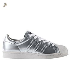 new product 8a115 5cd28 Adidas - Superstar Boost Women Silver Metallic - BB2271 - Color   Silver-White - Size  7.5 - Adidas sneakers for women ( Amazon Partner-Link)