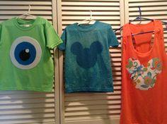 DIY Shirts for Disney